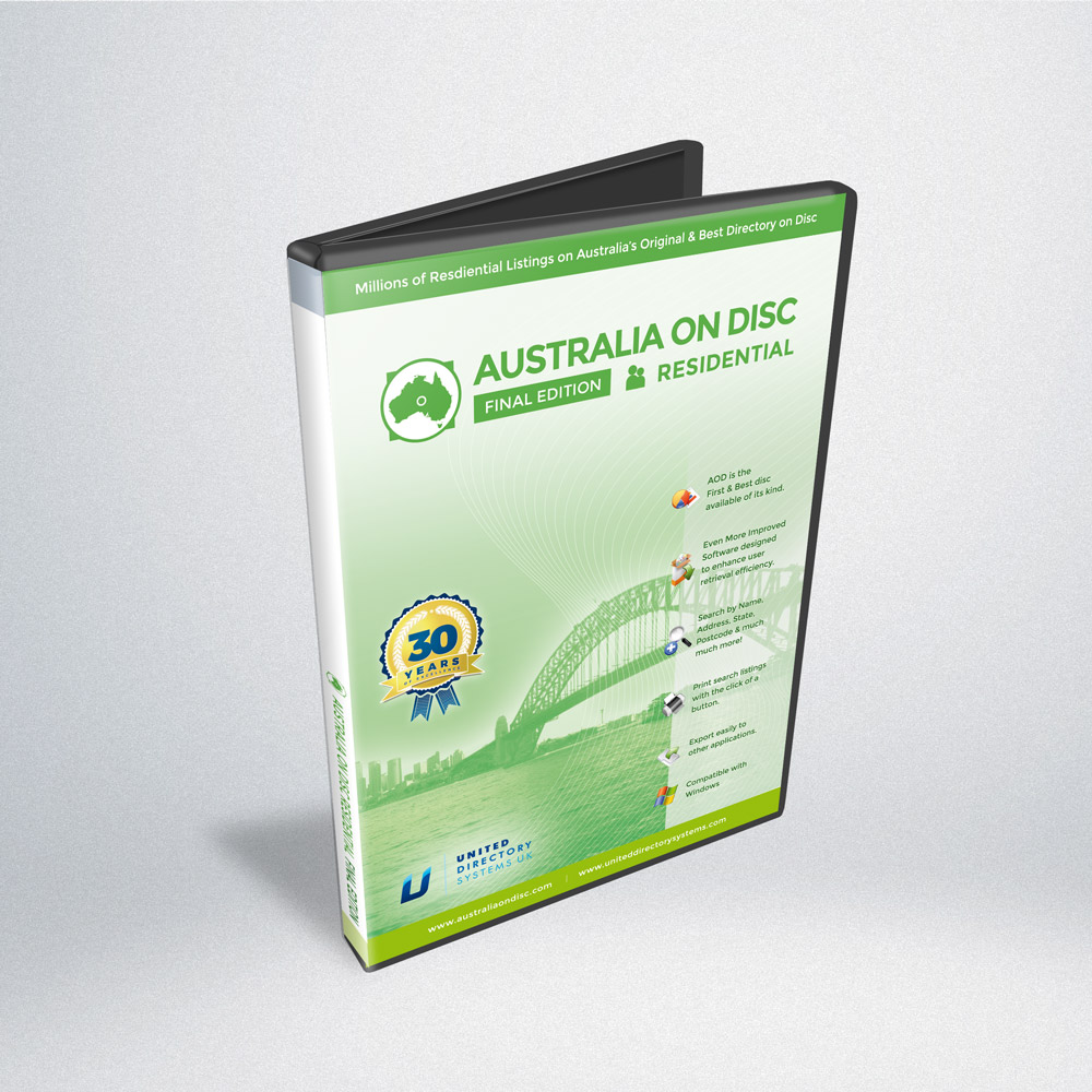 Australia On Disc Residential Edition