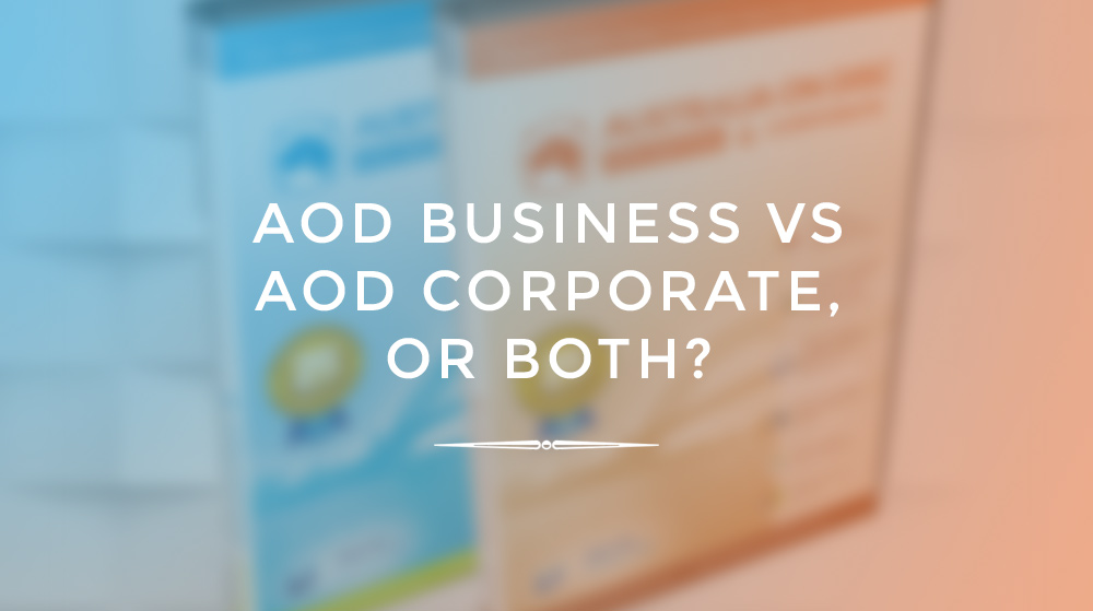 Is AOD Corporate Right For Me?