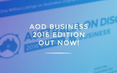AOD Business 2016 Edition Out Now!